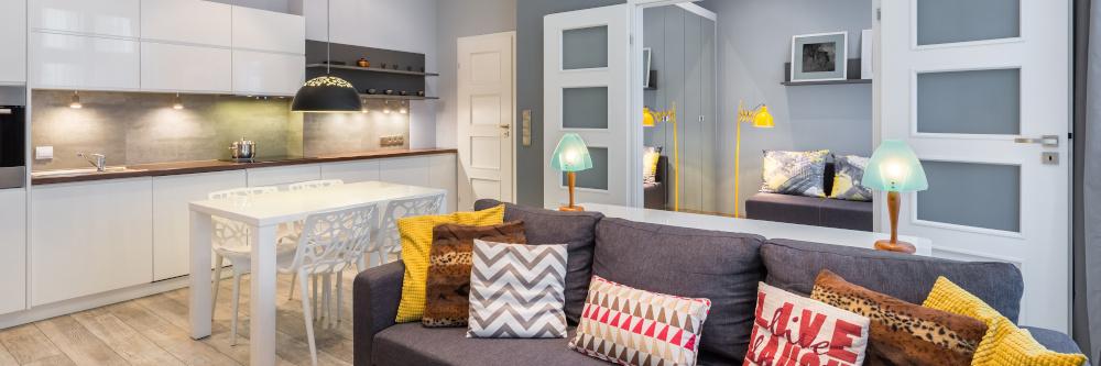 mieszkanie urząone w stylu skandynawskim